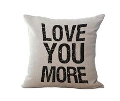 Quote Pillow Cover/ Cushion Cover