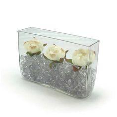 Weddings n Events. Rectangle Vase, Hanging Vases, Floral Supplies, Glass Vessel, Bottles And Jars, Floral Centerpieces, Floral Wedding, Special Occasion, Oceans