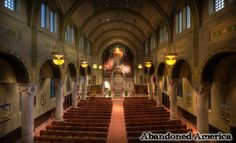 abandoned cathloic churches - photographs by matthew christopher murray of abandoned america