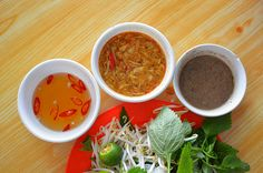 Vietnam's dipping sauces