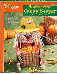 Scarecrow Candy Holder cover