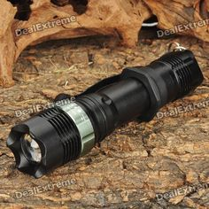 Focus Zoom Lens 3-Mode 270LM LED Flashlight w/ Charger & Battery- Black (1x18650). Brand Others,N/A Model NEW-109B NEW Quantity 1 Piece Color custom10000 Material Aluminum alloy Other Features Waterproof,Zoom-to-throw LED Type XR-E Emitter BIN Q3,Q3 Number of Emitters 1 Color BIN White Working Voltage 3.7-4.2 V Power Supply 1 x 18650 battery (included) Current 0.75-0.9 A Actual Lumens 270 lumens Runtime 3 Hour Number of Modes 3 Mode Arrangement Hi,Low,Fast Strobe Mode Memory No Switch Type…