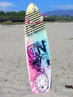 @: Sharpie surfboard