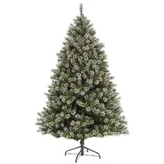 3 Frosted Mixed Cashmere Pine Artificial Christmas Tree  Unlit *** Visit the image link more details.