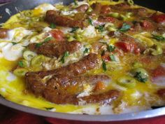 Quick and Easy Moroccan Comfort Food - Sausage and Egg Tagine