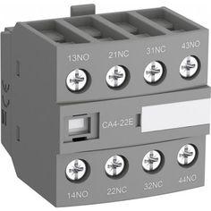 Блок контактный дополнительный CA4-22E (2НО+2НЗ) для контакторов AF26…AF96..-30-00 и AF09…AF38..-22-00 1SBN010140R1022 Electrical Equipment, Music Instruments, Audio, Musical Instruments