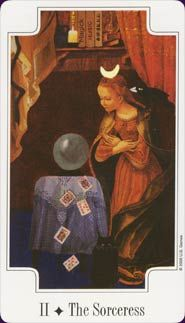 Transformational Tarot Deck High Priestess Card