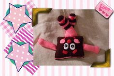 Funmigurumi And Kids Stuff- Silkie the Choco-Cherry Ice Cream Cookie Chum. FREE Pattern by Craftybegonia. FREE PATTERN 5/14.