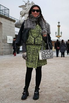 Street Style: Statement Outerwear - Photo by Anthea Simms
