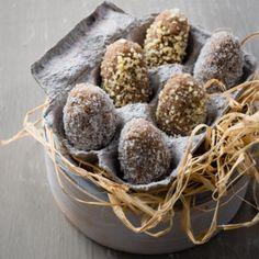 Breakfast Almond Dough 'Eggs' #Breakfast #Bakes #Eggs #SouthAfrica