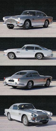 Aston Martin Séries 4 1963 :-o 😍😍😍😍 Aston Martin Db5, Classic Aston Martin, Maserati, James Bond Auto, Mazda, Automobile, Bond Cars, British Sports Cars, Car In The World