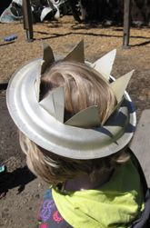 4th of July Craft: Make a Statue of Liberty Crown