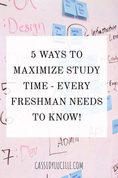 5 genius tips to make the most out of the time you use to study. Boost your college grades by studying efficiently and learning how to plan time to study! College List, Online College, College Hacks, College Planning, Study College, Education Degree, Education College, College Teaching, Education Requirements