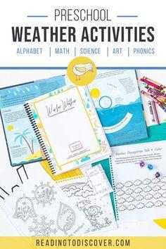 W is for Weather Preschool Activities