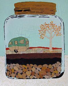 amy rice, design a scene/world in a jar!