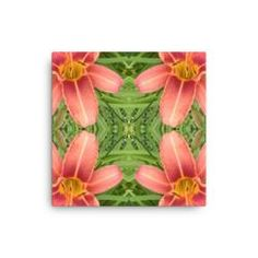 Tiger Lily Reflections 2 Canvas