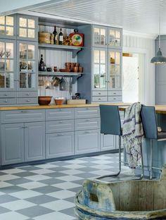 Kitchen Stories, Inspiration Boards, Kitchen Interior, Kitchen Cabinets, Interior Design, Table, House, Furniture, Kitchen Ideas