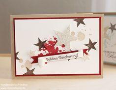 Weihnachtskarte Stampin Up Christmas Card Karte Card 177