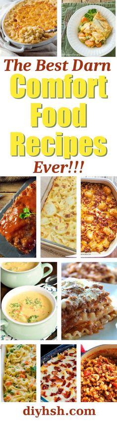 Top 10 Best Comfort Food Recipes Ever!! #ComfortFood #Casserole #SlowCooker #HomeCooking