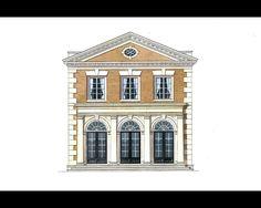 Stephen Fuller Designs - High Style Georgian Manor Drawings
