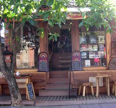 French bookshop and Cafe, Ubud by Trapped In A Suit, via Flickr