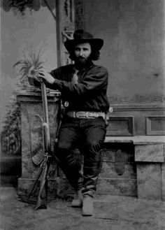 "Ed Schieffelin, ""Founder of Tombstone"", Arizona, 1880s"