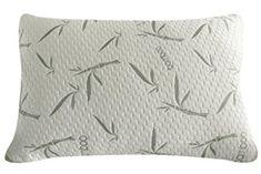 Sleep Whale - Premium Adjustable Shredded Memory Foam Pillow Derived from Bamboo - Luxury Design - Queen Queen Memory Foam Mattress, Memory Foam Mattress Topper, Foam Pillows, Bed Pillows, Bed Linens, Bed Rest Pillow, Memory Pillows, Pillow Reviews, Bamboo