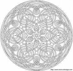 Mandala Art Free Coloring Pages | Mandala Print Outs http://www.coloring2000.com/img.php?id_img=2576