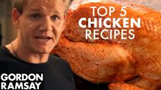 Chicken Recipes Gordon : Gordon Ramsay's Top 5 Chicken Recipes - Chicken Recipes Gordon Video Chicken Recipes Gordon Gordon Ramsay shows how to shake things up with these top chicken recipes. Gordon Ramsay Shows, Chef Gordon Ramsey, Gordon Ramsey Steak, Chicken Recipes Gordon Ramsay, Chicken Recipes Video, Chicken Wellington Recipe Gordon Ramsay, Chef Recipes, Cooking Recipes, Cooking Tips