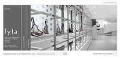 Conception et création du site web de la Boutique Lyla à Montréal