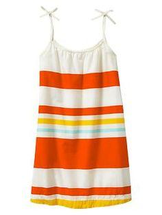 Striped bow dress | Gap