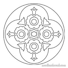 Hungarian Embroidery Pattern. This website has lots of neat embroidery patterns!