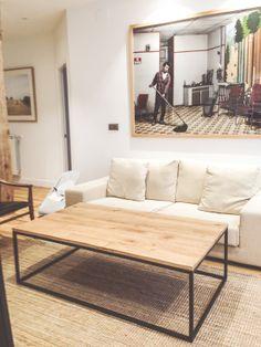 Mesa centro de www.boisetfer.es. #furniture #design #muebles #wood