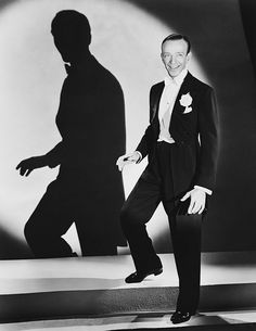 Fred Astaire Spotlight Aimed at Him. Fred Astaire is well known for being a beloved American film and stage star. His legacy includes dance, choreography, singi Old Hollywood Glamour, Hollywood Actor, Golden Age Of Hollywood, Vintage Hollywood, Hollywood Stars, Classic Hollywood, Gene Kelly, Fred Astaire, George Hurrell