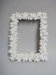 manualidades con piezas de puzzle -