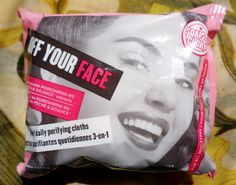 Miss Beauty Saver // A British Makeup and Beauty Blog: Review I Soap & Glory Off Your Face Wipes