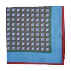 Kiton Abstract Pocket Square at Barneys.com