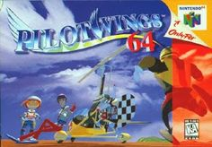 Old school video games: PILOTWINGS 64. Repin if you remember!