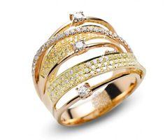 Vogue Crafts & Designs Pvt. Ltd. manufactures Fancy Diamond Ring at wholesale prices.