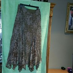RL handkerchief skirt NWOT nice and breezes skirt Ralph Lauren Skirts Midi