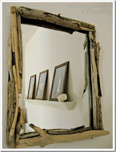 Driftwood Mirror for $1.50