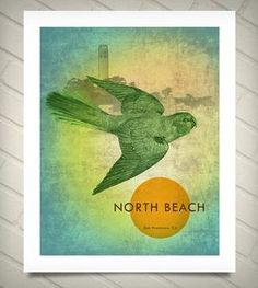 North Beach Neighborhood Print