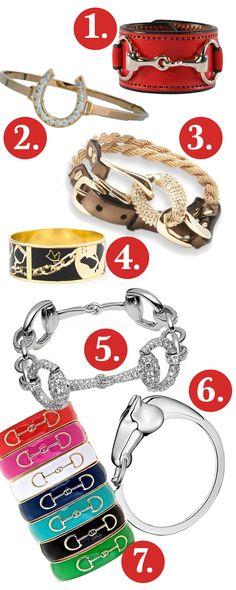 bracelets equestrian