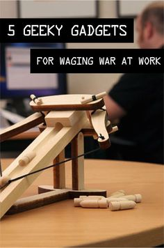 Turn a boring day at work into a hilarious, action-filled, memorable day by waging war on your coworkers! Pretend war, using geeky gadgets, of course! Attack the person sitting on the other side of your cubicle by launching an all-out assault with the Dream Cheeky 901 Storm O.I.C. Missile Launcher. Send a frightful pocket of air to your colleague with the Airzooka; it can travel roughly 20 feet! Read on as eBay helps you wage war on your coworkers!