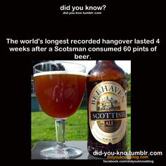 I have the world's worst hangovers so this was def. me  did-you-kno: Source