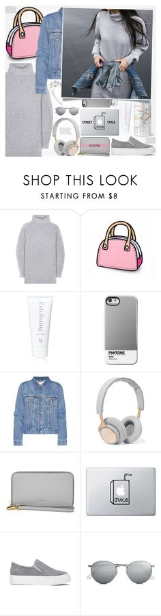 """♠ Street Style"" by paty ❤ liked on Polyvore featuring Acne Studios, Henri Bendel, Case Scenario, B&O Play, FOSSIL and Ray-Ban"