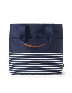 Crew Clothing Bailey Shopper a classic shopper in a stylish bold stripe. easy. 100% nylon zipped internal pockets wipe clean dimensions: 38cm x 37 cm x 10 cm http://www.MightGet.com/april-2017-2/crew-clothing-bailey-shopper.asp