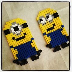 Minions perler beads by emmayoungdale