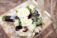 love the callas, and the texture in this bouquet