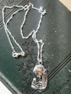 precious mother and baby necklace <3